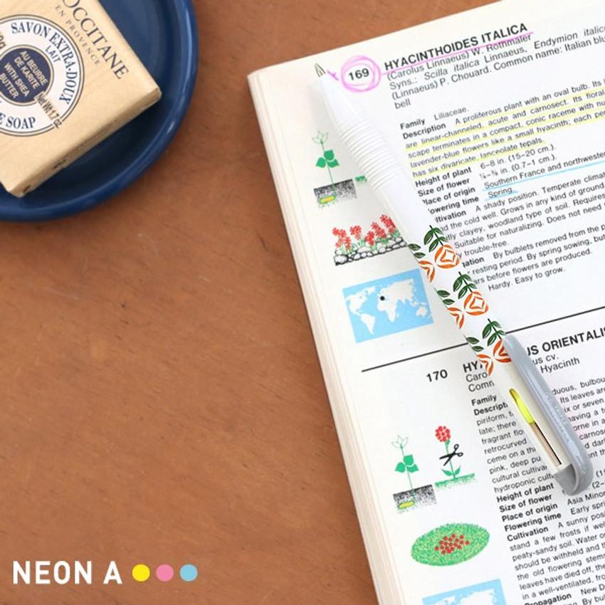 Neon A - Un jour de reve triple 3 colors in 1 pen