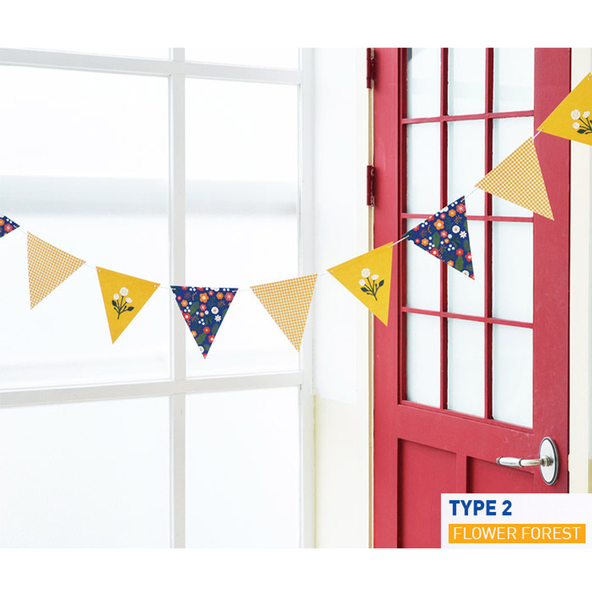 Type 2 - Make you happy flag garland