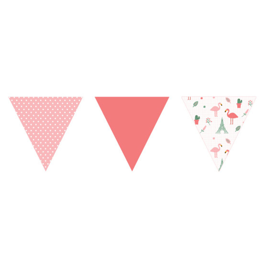 Type 1 - Make you happy flag garland