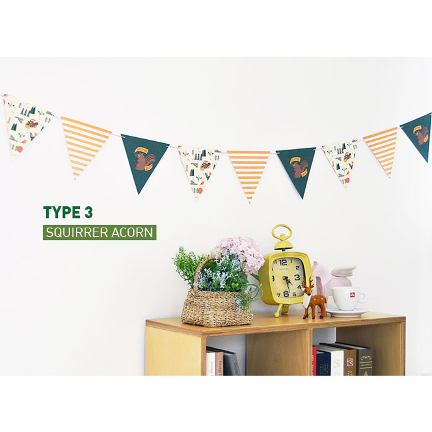 Type 3 - Make you happy flag garland