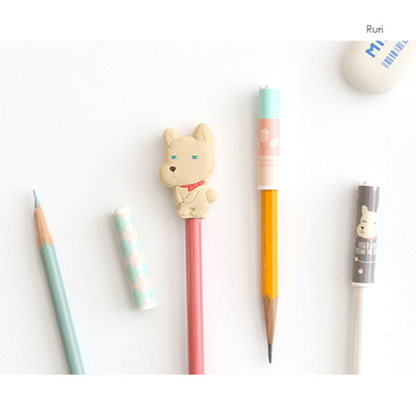 Ruri - Pattern from the forest soft pencil cap set ver.2