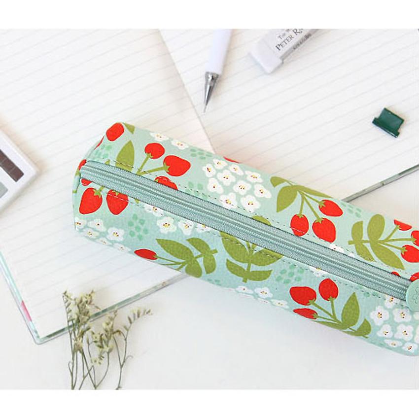 Breezy windy nemo flower pattern pencil case