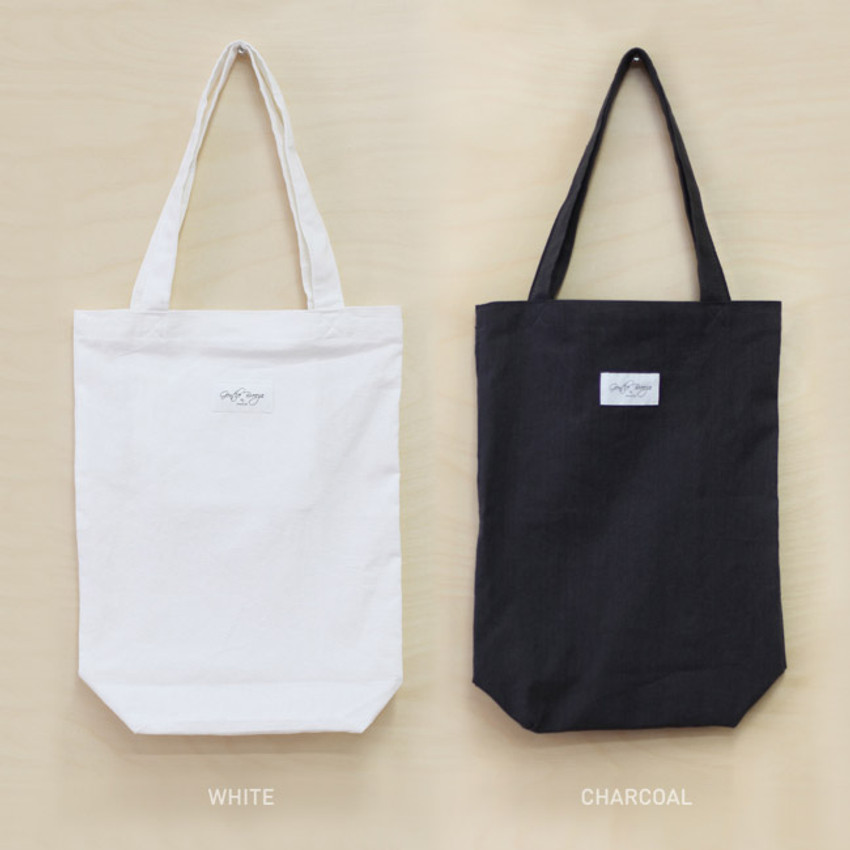 Colors of Natural and Pure gentle eco tote bag