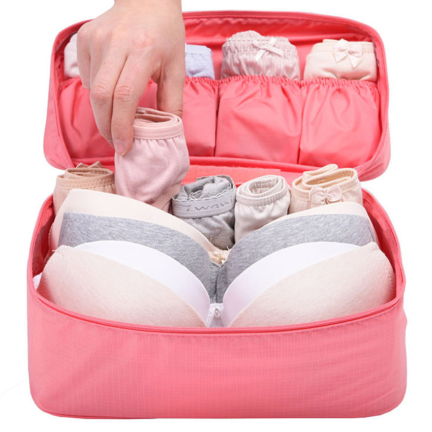 Travel large pouch bag for underwear and bra