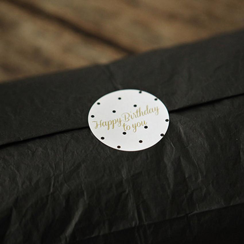 Deco message paper sticker set ver.3