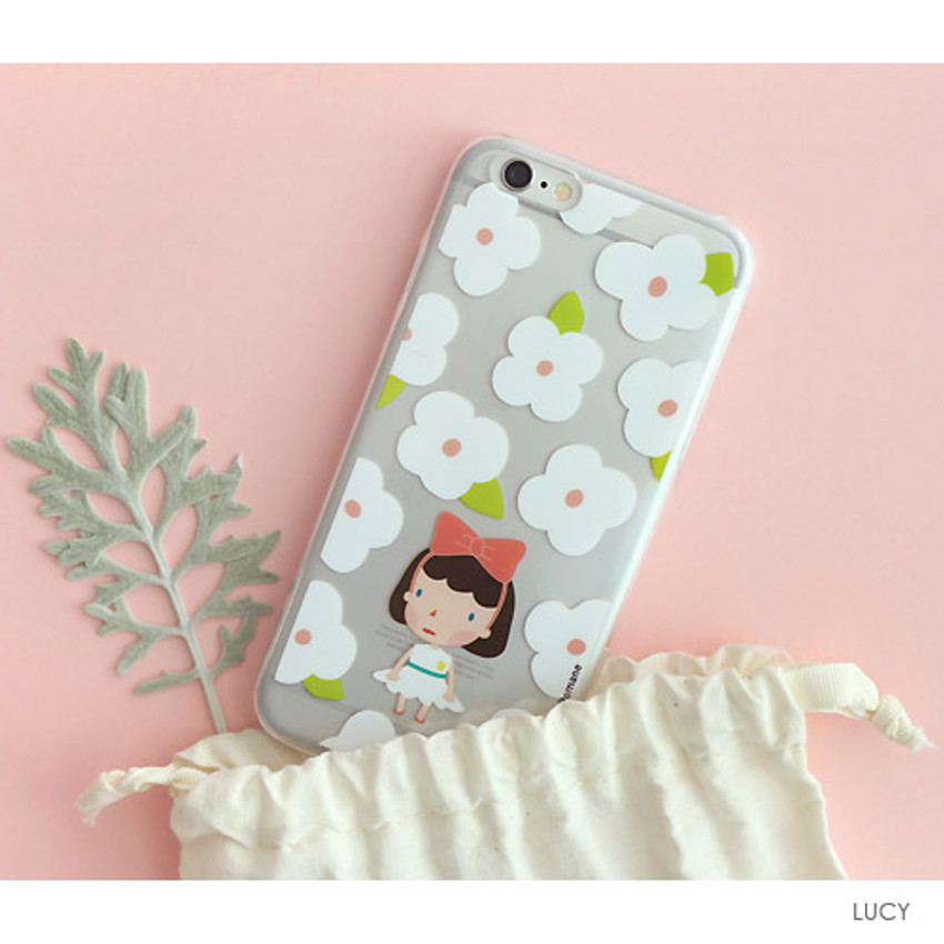 Lucy - Hellogeeks Clear PC case cover for iPhone 6