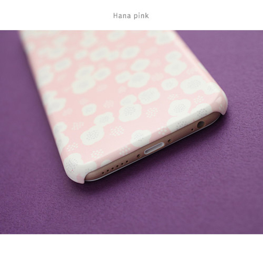 Hana pink - Promenade pattern phone case for iPhone 6
