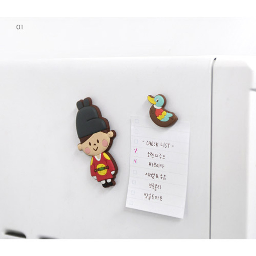 01 - Korean traditional soft magnet