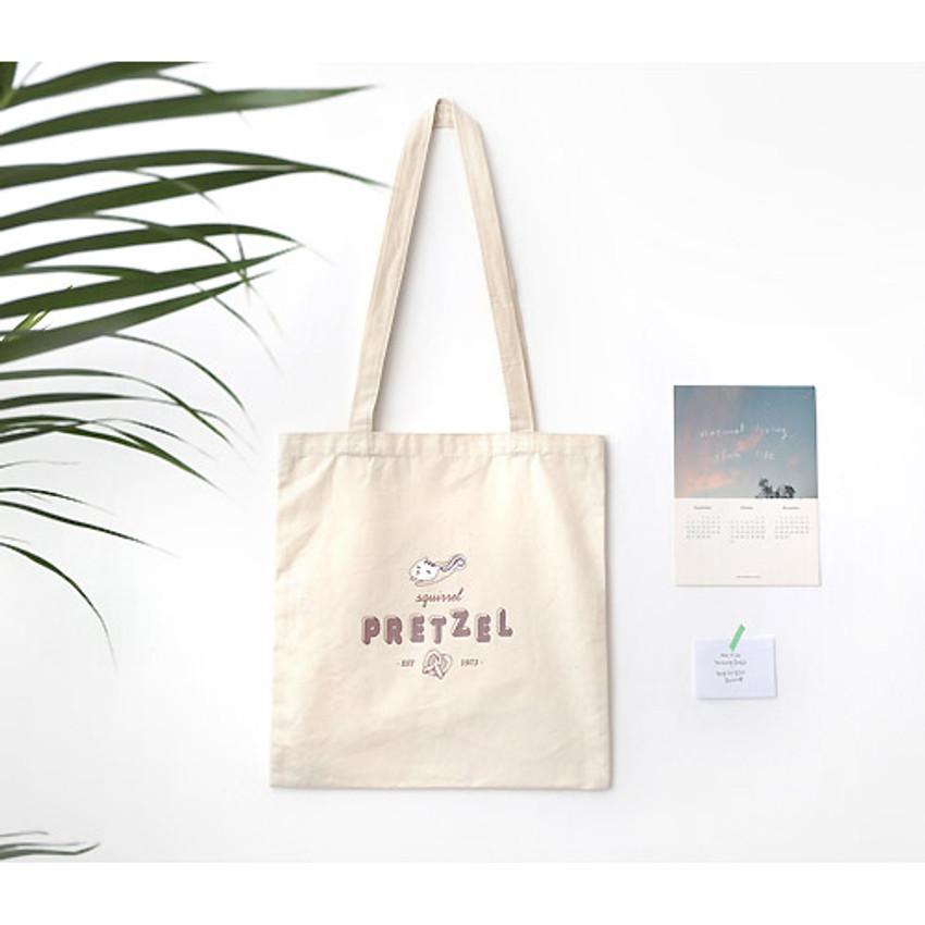 Pretzel - Hellogeeks one point eco tote bag