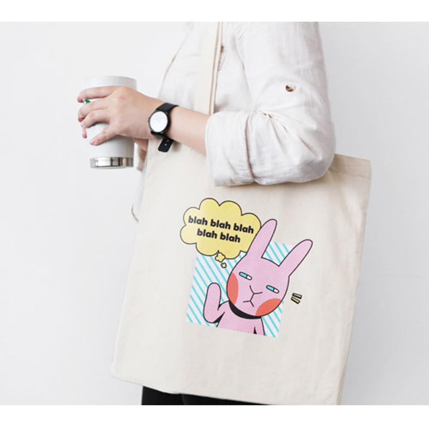 Donna - Hellogeeks pop art eco tote bag