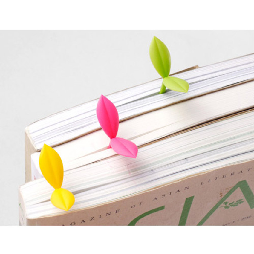 Sprout soft bookmark