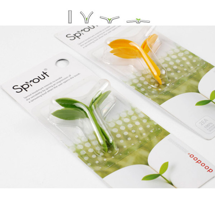 Package for Sprout soft bookmark