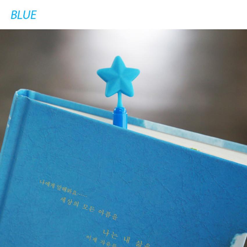 Blue - Star dream black pen 0.7mm