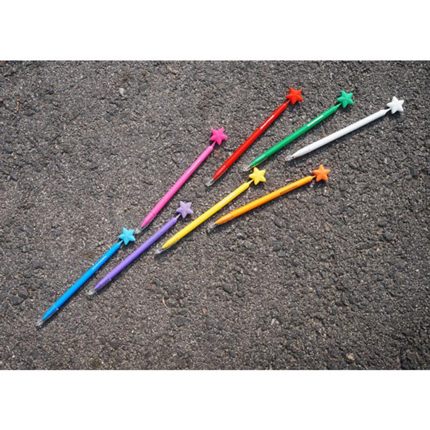 Star dream black pen 0.7mm