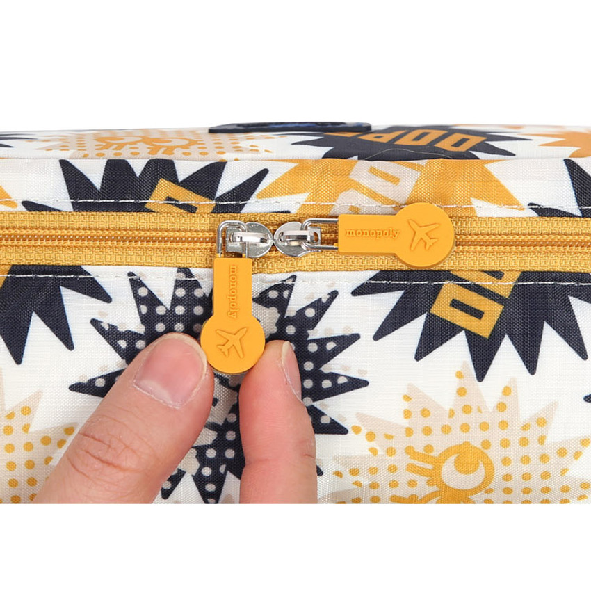 Rubber zip sliders
