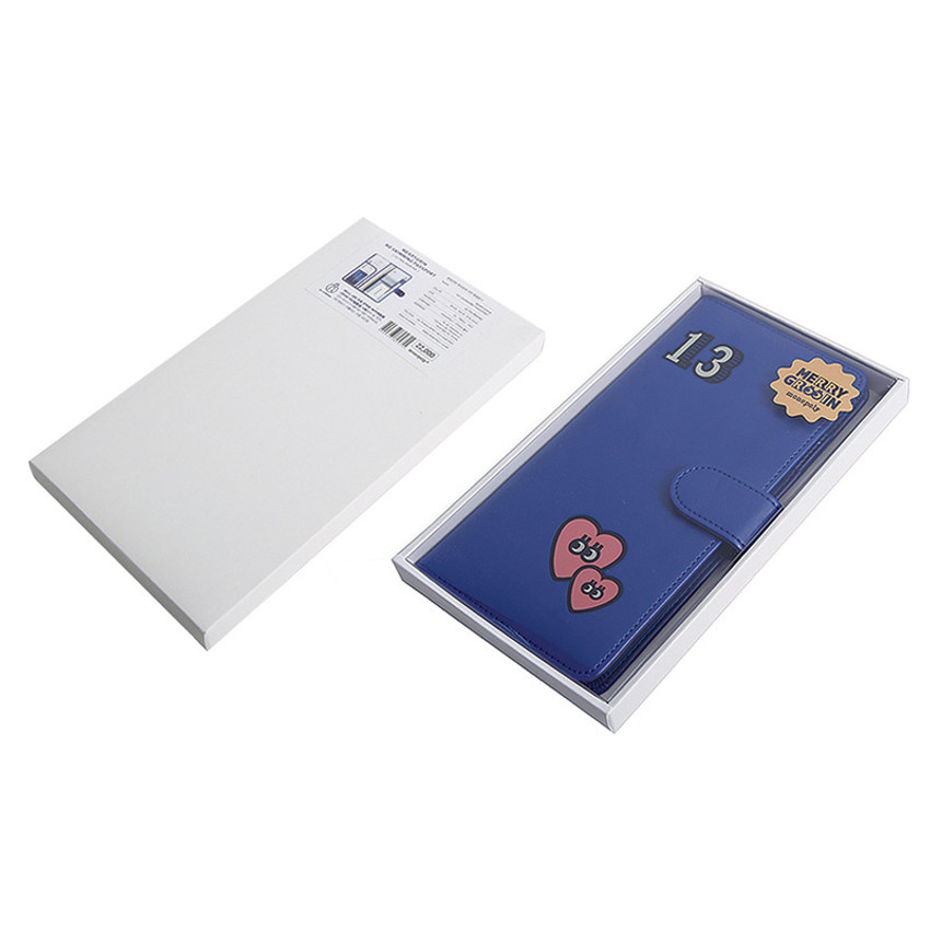 Package for Merrygrin RFID blocking long passport case