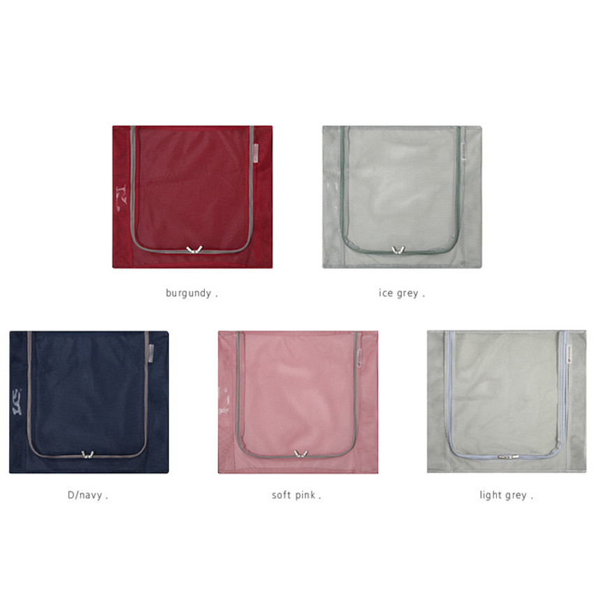 Colors of Travelus mesh packing organizer bag XL ver.2