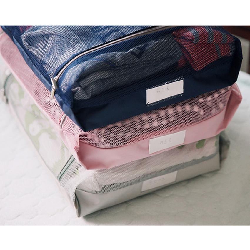 Travelus mesh packing organizer bag XXL ver.2