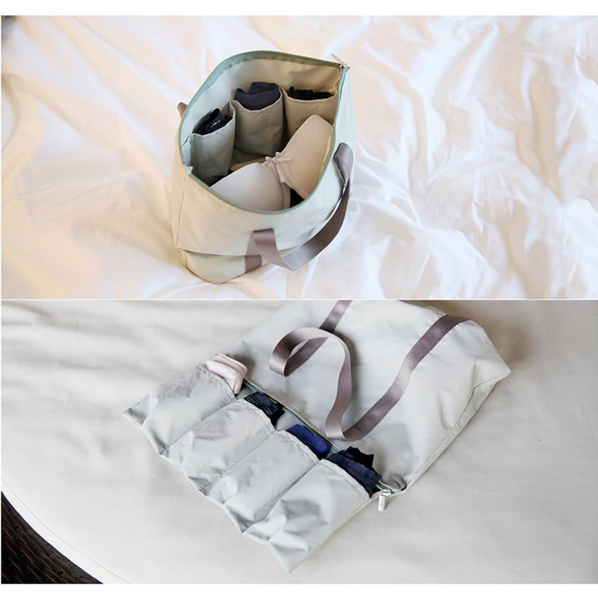 Travelus water resistant underwear bag ver.2