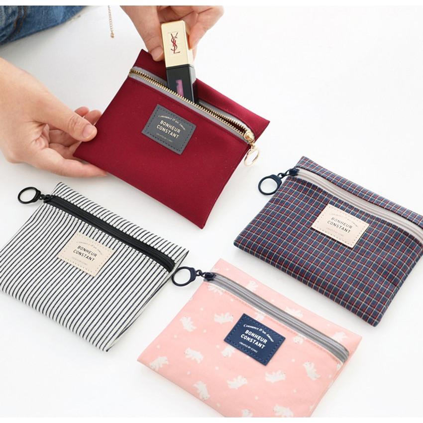 Basic pattern small zipper pouch ver.2