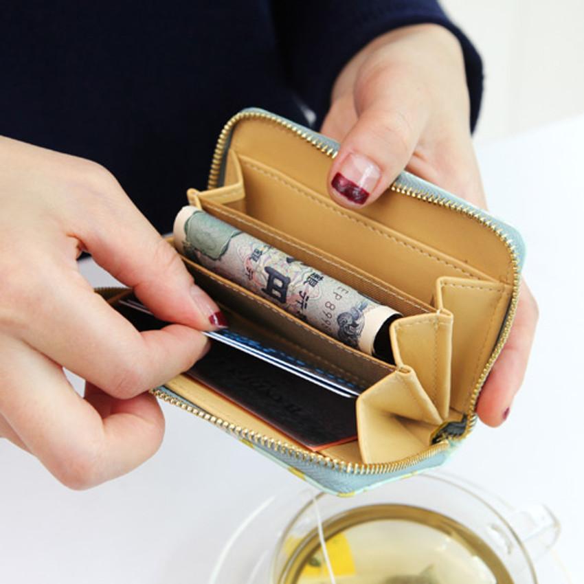 Allium - Pour vous melody accordion card wallet
