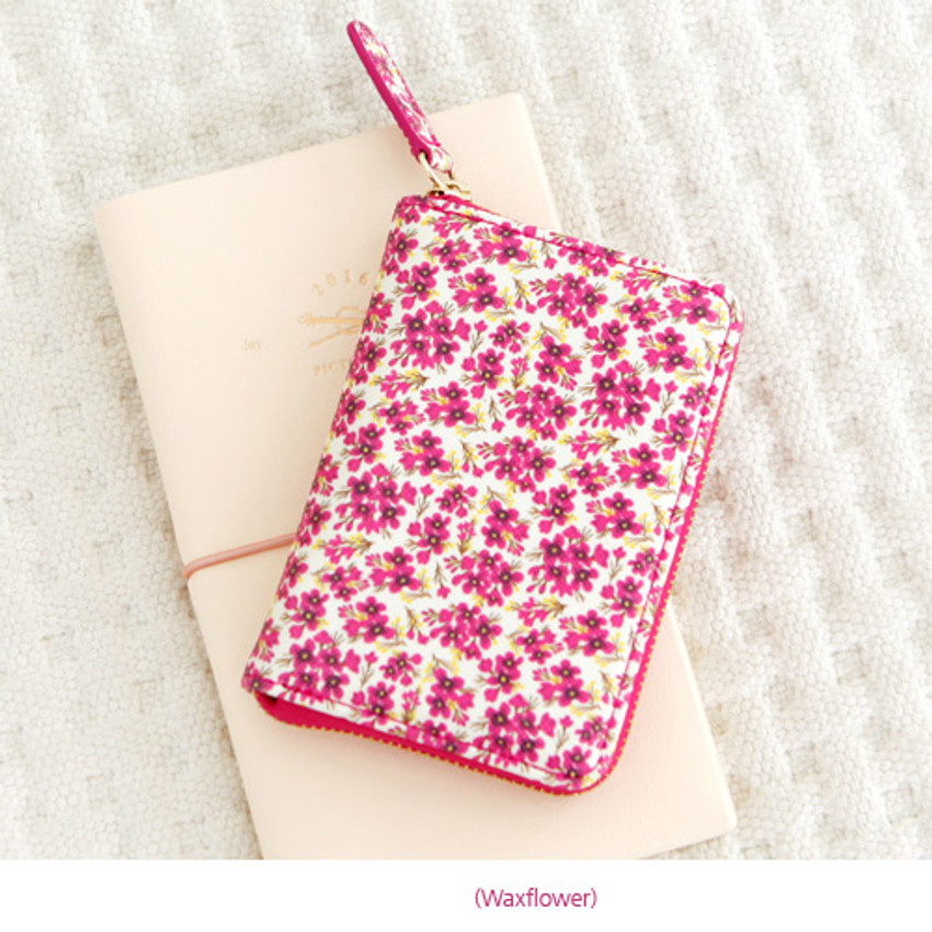 Waxflower - Pour vous melody accordion card wallet
