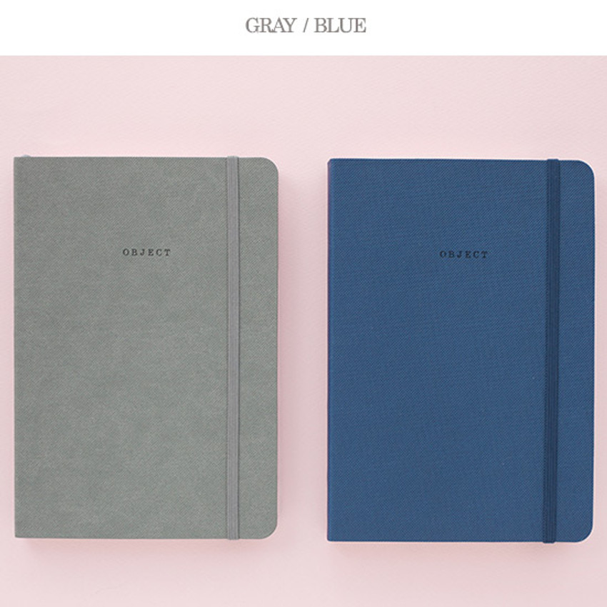 Gray, Blue - 2016 Object dated weekly diary