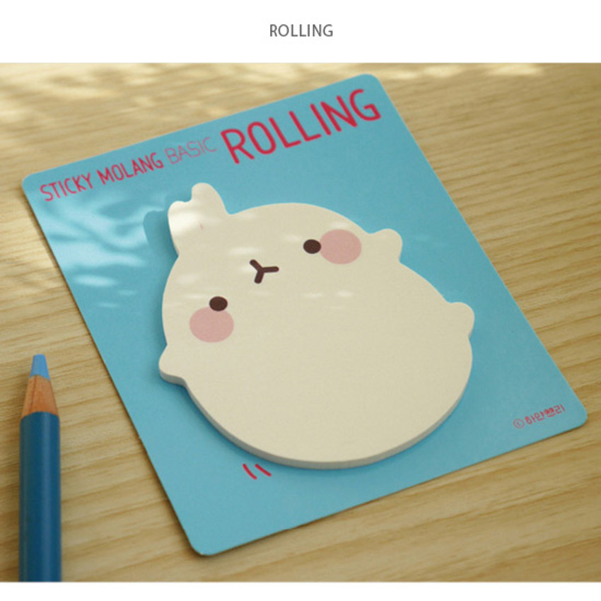 Rolling - Molang basic cute sticky note