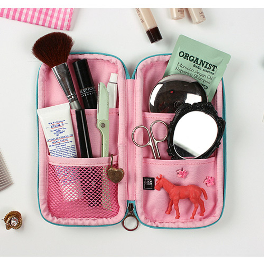 Real looker - Fashionable animal zipper pencil pouch