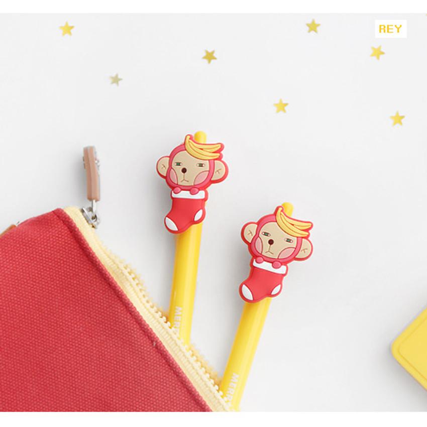 Rey - Hellogeeks christmas black gel pen