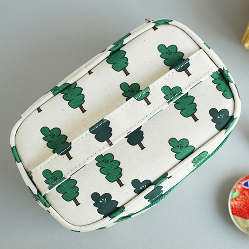 Two tree - Jam Jam cute illustration make up cosmetic pouch