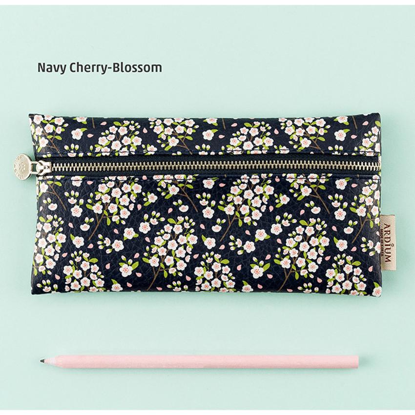Navy cherry blossom