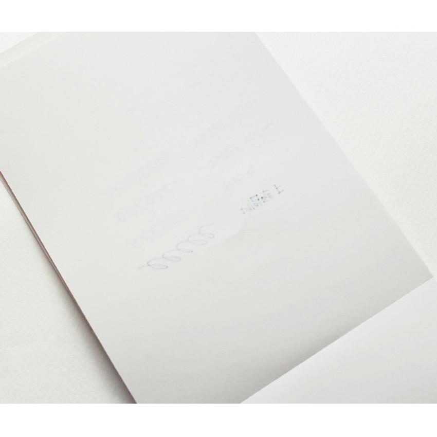 La vie en rose A5 size plain notepad