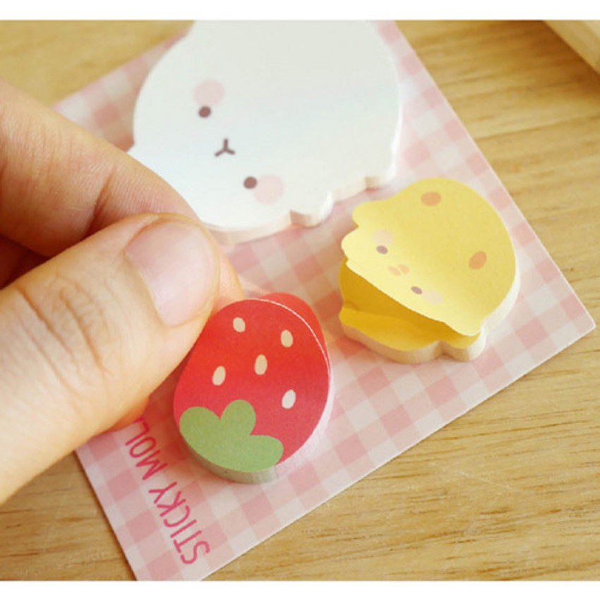 Berry - Molang cute animal sticky memo note