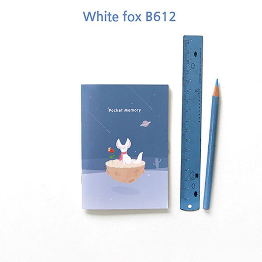 White fox B612