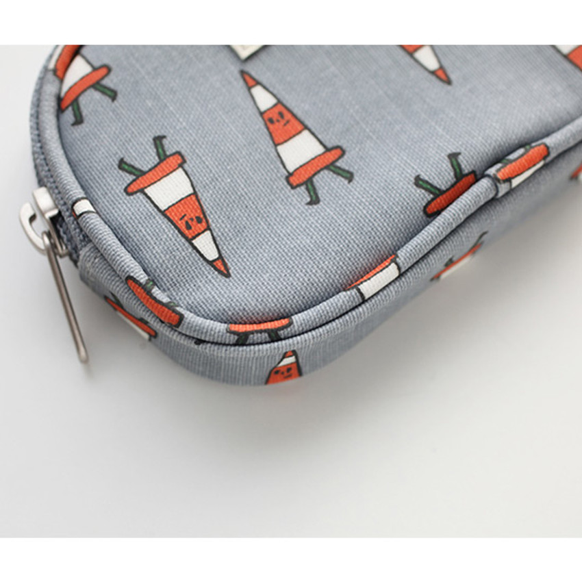 Detail of Jam Jam pattern card case pouch