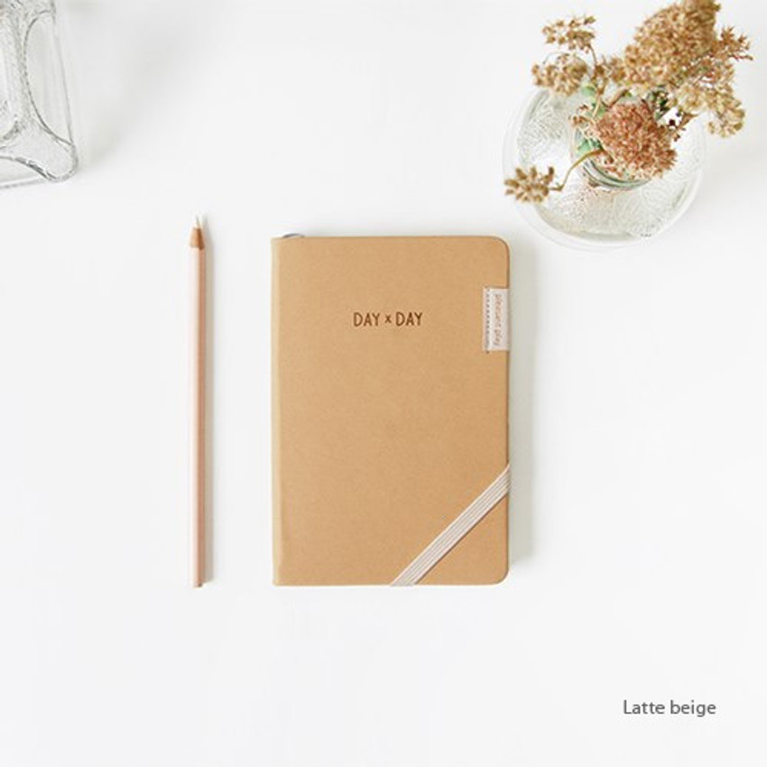 Latte beige - Day by Day small notebook