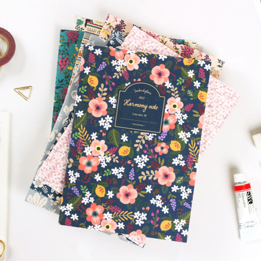 Pour vous harmony lined notebook medium