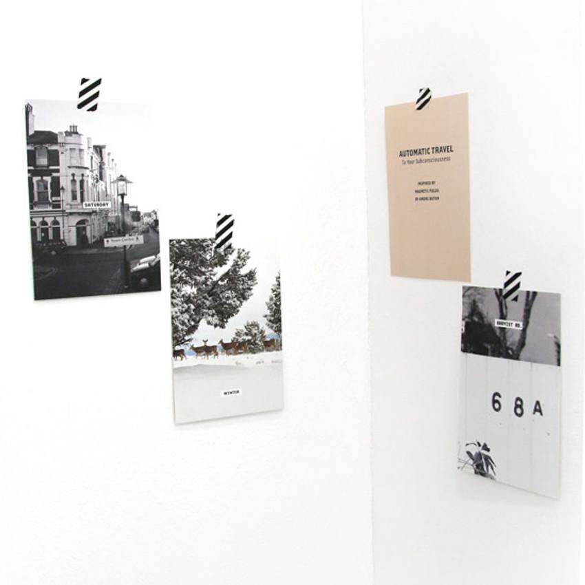 Second mansion design postcard