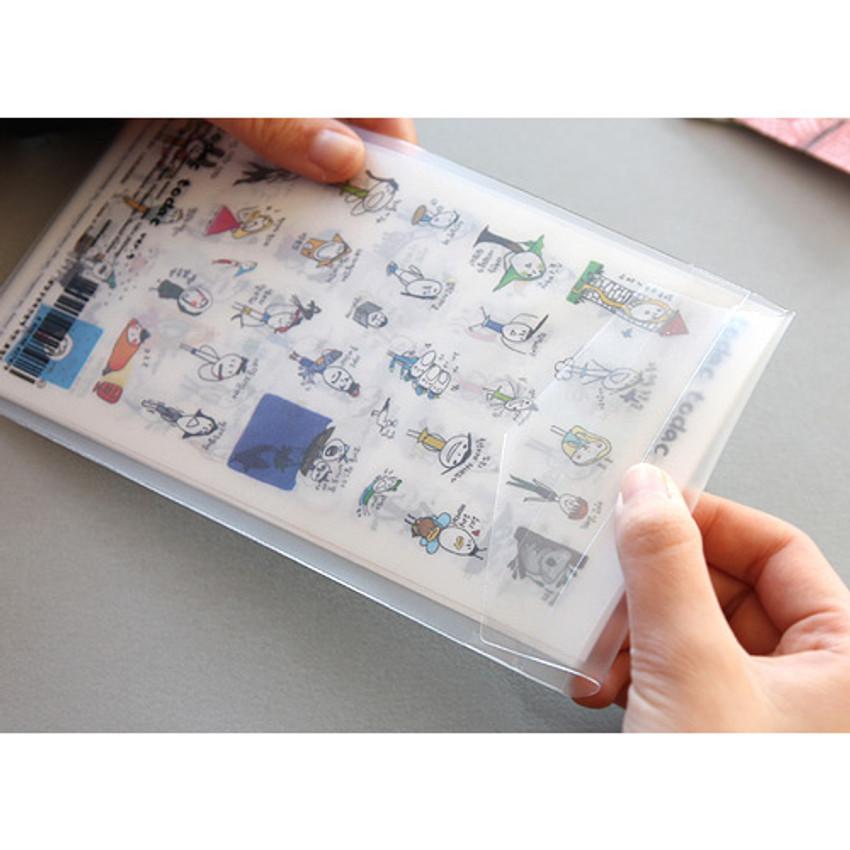Todac Todac transparent deco sticker set ver.5