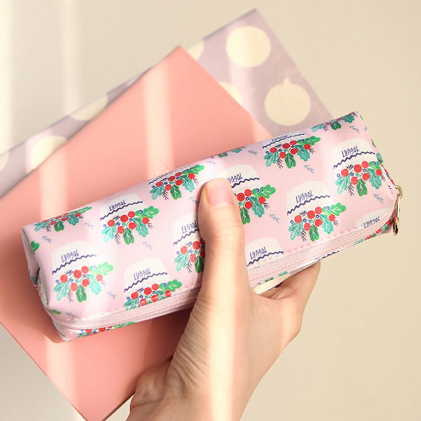 Yogrut - Rim cute illustration pencil pouch