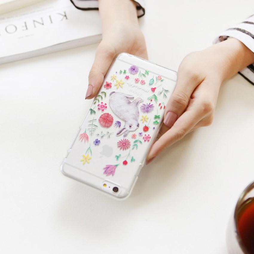 Rabbit - Rim TPU soft iPhone 6 plus case