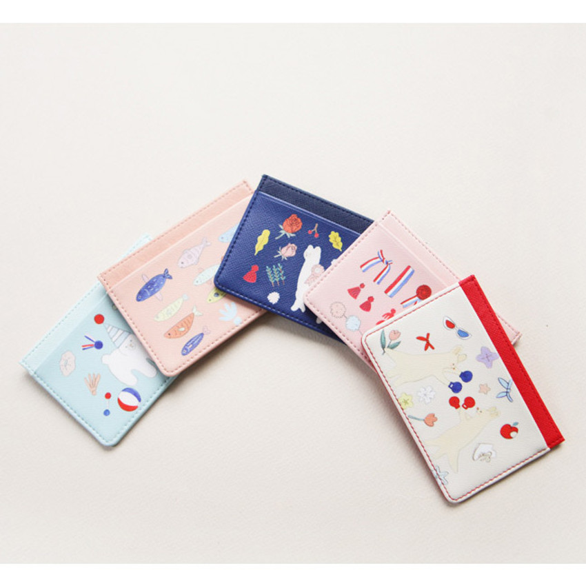 Alice Rim flat card case holder