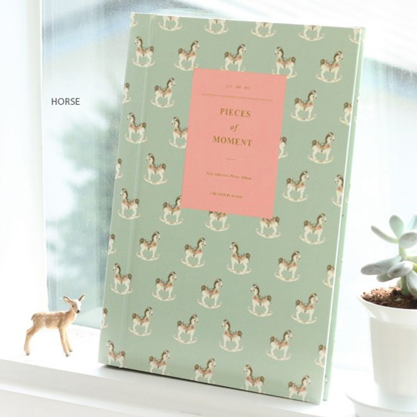 Horse - Pieces of moment self adhesive photo album