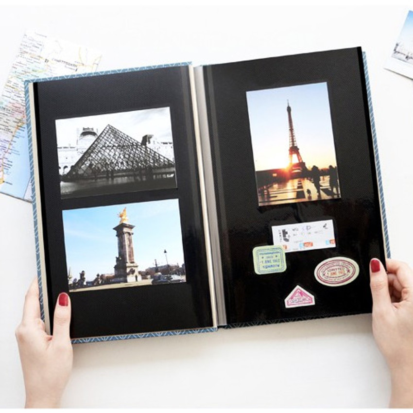 Pieces of moment self adhesive photo album