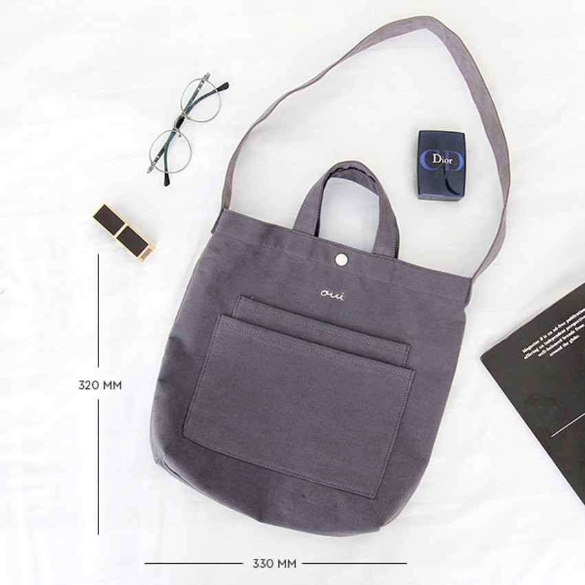 Size of Around'D two pocket bag - small