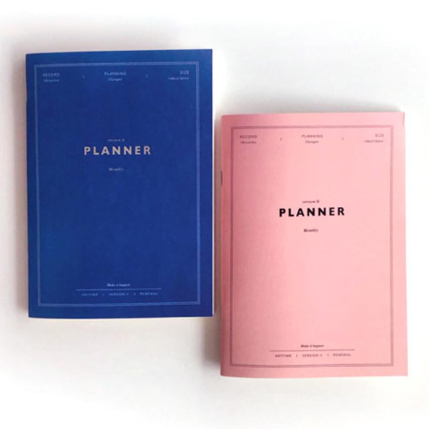 Make it happen undated monthly planner ver.2