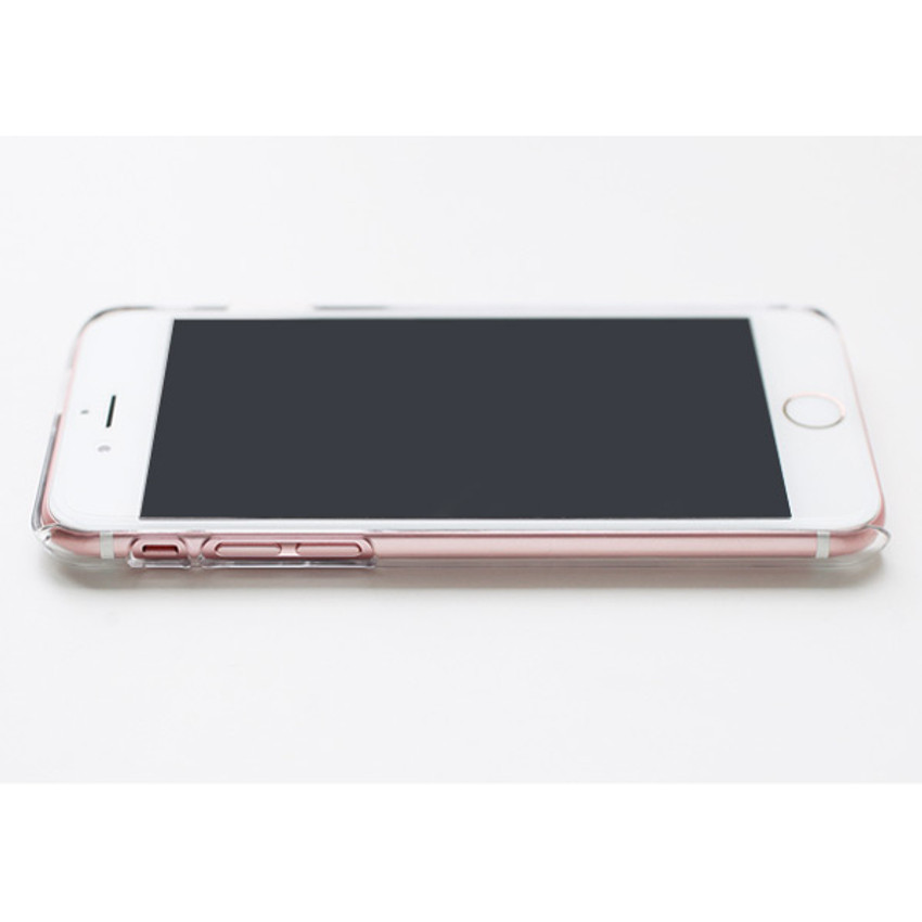 Clear polycarbonate hard case for iPhone 6 6S