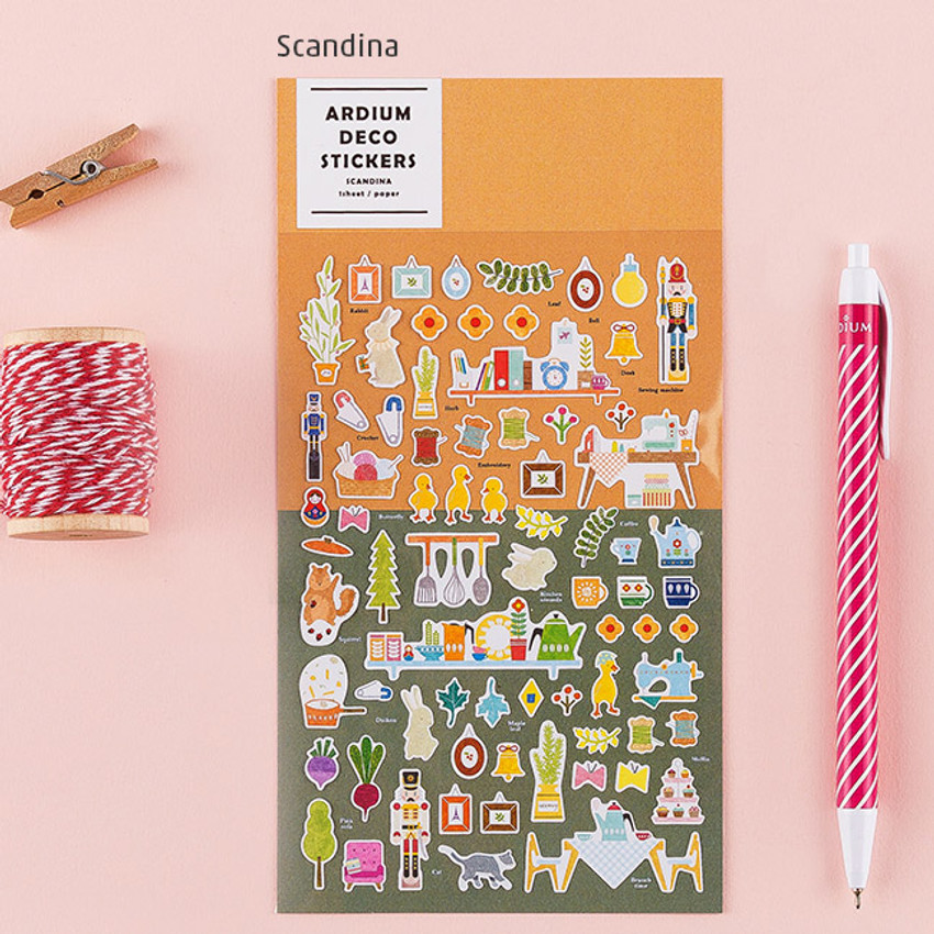 Scandina - Colorful and unique deco sticker
