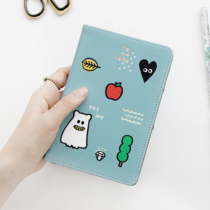 Sky - Ghost pop RFID blocking passport case